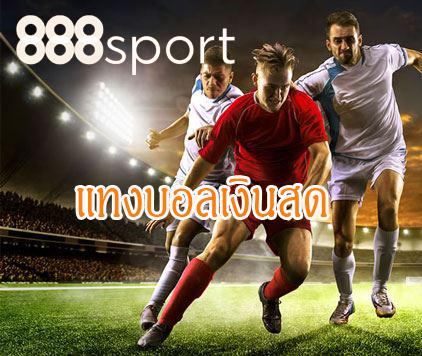 แทงบอลเงินสด กับเว็บพนันบอลออนไลน์ 888sportmax